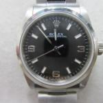 ロレックス・オイスターパーペチュアル買取りしました!!宅配でも買取します。広島市時計リサイクル店。